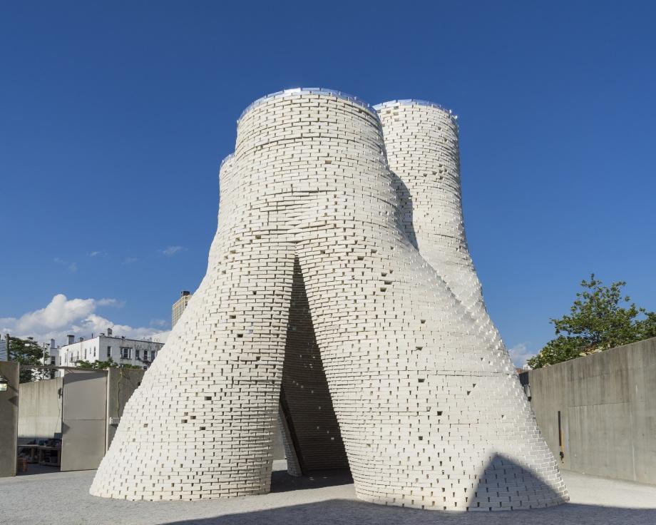 Tymczasowy pawilon, architektura ekologiczna