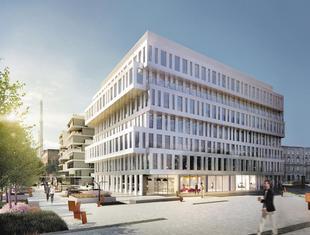 Współczesna architektura Wrocławia: biurowiec Dubois 41 na Nadodrzu